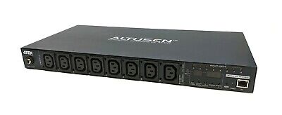 ATEN Eco PDU PE6108G 8 Outlet 10 AMP Metered Switched Power Distribution Unit