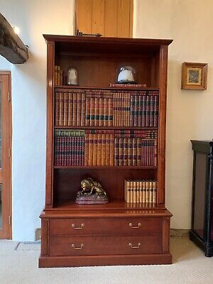 Rrp £12500 Reh Kennedy Harrods Library Television Bookcase Cabinet