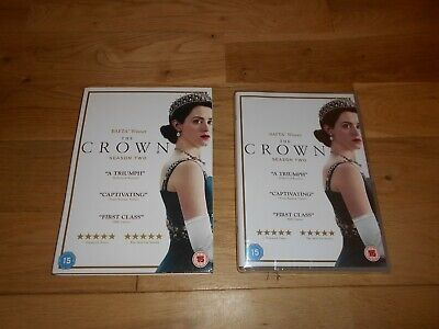 The Crown Season Two Series 2 Dvd Brand New And Sealed Uk Pal Region 2