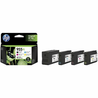 HP Ink Cartridge 955XL 4 Pack Assorted Combo Value Pack