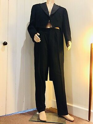 NICE Mens Vintage Moss Bros, Covent Garden, London' Black Tuxedo Suit, 42 Inches