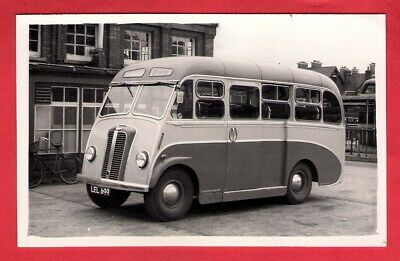Bus Photo - Priory Coaches of Christchurch LEL699 - 1951 Reading Karrier Q25