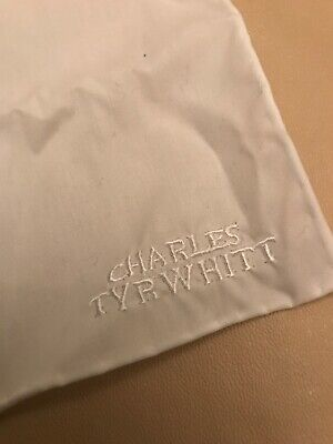 Charles Tyrwhitt White Jacket Cotton Handkerchief