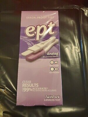 EPT Analog Early Pregnancy Test ~ 2 tests Exp 01/2020