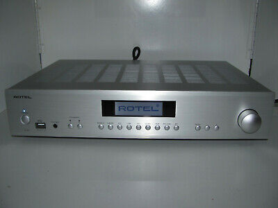 Rotel A14 Integrated Amplifier As New In Box Complete With All Packaging.