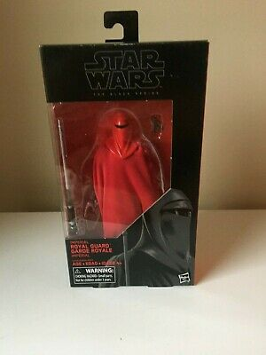 Star Wars 2016 The Black Series Emperors Royal Guard Exclusive Action Figure 3.7