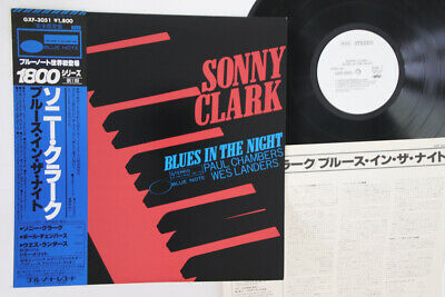 LP SONNY CLARK Blues In The Night GXF3051 BLUE NOTE JAPAN Vinyl OBI PROMO