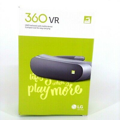 """LG 360 VR Headset R100 for LG G5 Virtual Reality 1.88"""" IPS"""