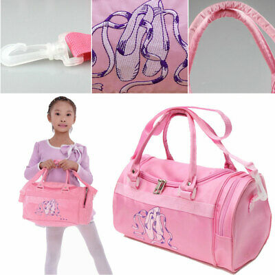 Girls School Kids Handbag Tote Gymnastics Ballet Shoulder Bag  Dance Duffle Bag