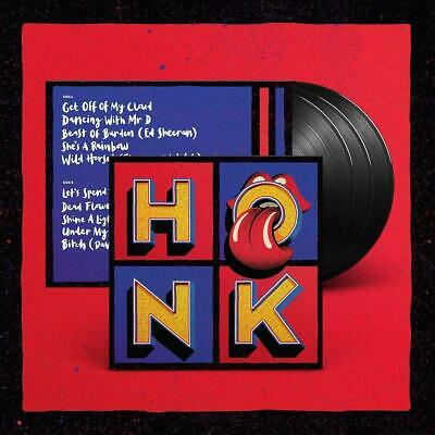 THE ROLLING STONES – HONK THE VERY BEST OF 3X VINYL LP (NEW) Greatest Hits