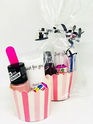 Girls Filled Birthday Pamper Party Bags, Older Girls/Sleepover/Hen Party Bags