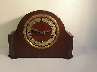 enfield mantel clock spares or repairs no glass