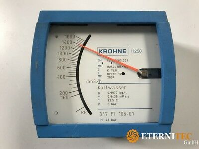 Krohne H250/RR/M9 Cold Water