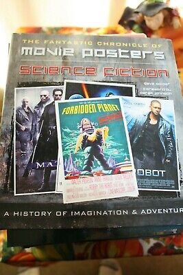 The Fantastic Chronicle Of Movie Posters - Science Fiction! Dave Golder - New!