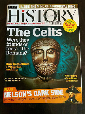 BBC History Magazine Christmas 2018 Celts Vs Roman  Nelson Alfred The Great VGC