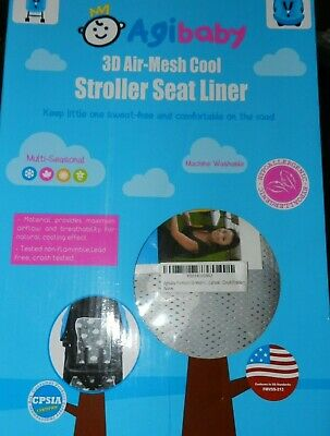 Agibaby 3D Air-Mesh Cool Stroller Seat Liner