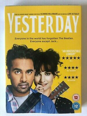 Yesterday New DVD / Free Delivery,NEW AND SEALED