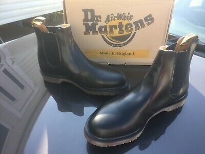 Dr Martens 2976 black leather chelsea boots UK 11 EU 46  Made in England