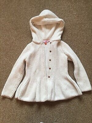 TED BAKER GIRLS Long Sleeve Cardigan 4-5YRS