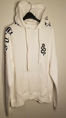 Taylor Swift White Reputation Stadium Tour Hoodie Hooded Hoody Adult L Large