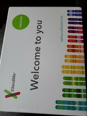 New 23andMe DNA Test Ancestry & Traits Personal Genetic Service EXP: 07-2021