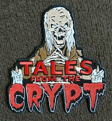 Crypt Keeper Tales from the Crypt LARGE collectors horror movie tv PATCH