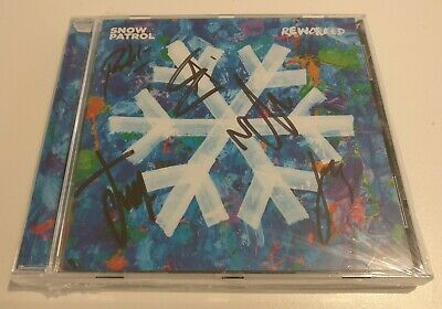 Signed Snow Patrol 'Reworked' cd - Signed Edition