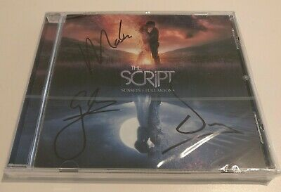 Signed The Script 'Sunsets & Full Moons' cd - Signed Edition