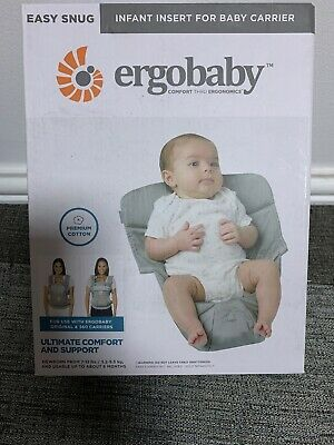 ERGObaby Infant insert for Baby Carrier Collection Performance (3.2 - 5.kg),