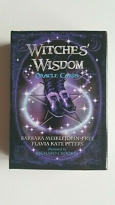 Witches Wisdom Oracle Cards - 48 Cards & Guidebook Set