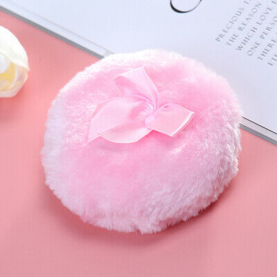 Professional Butterfly Baby Cosmetic Soft Plush Puff Sponge Talcum Makeup Too FY