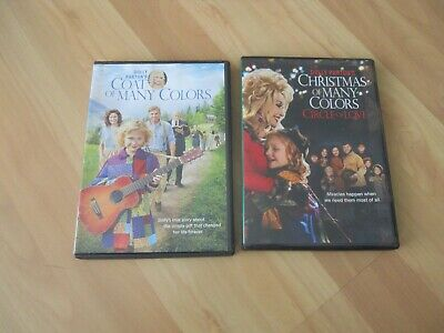 Dolly Parton Coat of Many Colors and Christmas of many Colors Circle of Love DVD
