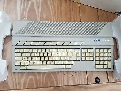 Atari 520 STM Vintage Computer - WORKING, very rare with disk drive