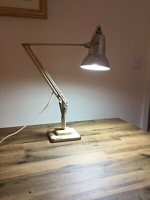 Herbert Terry & Sons Vintage Cream Based Anglepoise Lamp  1227  (1938)