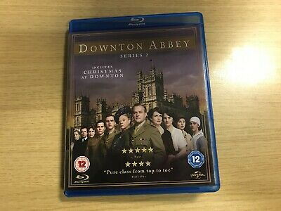 BOXED - Downton Abbey - Series 2 - Complete (Blu-ray, 2011, 3-Disc Set)