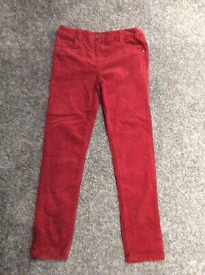 Girls Age 10 Red Jeans Next