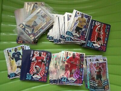 Topps Match Attax 2016/17 Swaps and Spares Job Lot