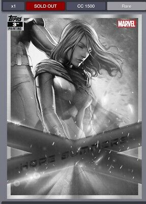 TOPPS MARVEL COLLECT X-FORCE 3rd PRINTING HOPE SUMMERS DIGITAL Card - Rare -
