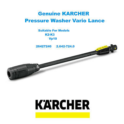 KARCHER K 2 Compact Genuine Product Pressure Washer Vario Lance 2.642-724.0