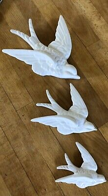 3 X Latex Moulds for making these Lovely Trio Of Swallows