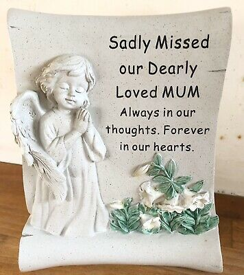 Latex Mould for making this Lovely Mum Memorial