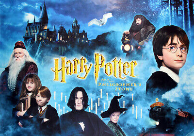 HARRY POTTER  MOVIE POSTER   * LARGE A3 SiZE QUALITY CANVAS PRINT