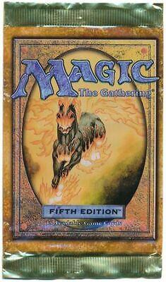 5th Edition Booster Pack (Loose) (ENGLISH) FACTORY SEALED MAGIC MTG ABUGames