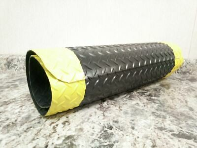 Notrax 509S0025YB 2 Ft W 5 Ft L 9/16 In Thickness 13.5 Lb Antifatigue Mat