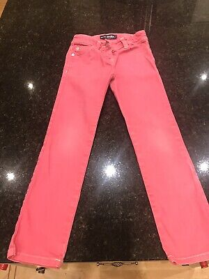 Mini Boden Age 8 Girls Pink Jeans Trousers