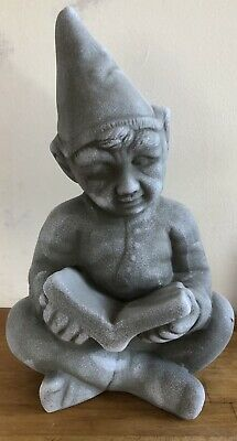 Latex Mould for making This Gnome With A Book Statue