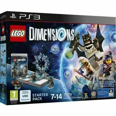 PS3-Lego Dimensions - Starter Pack /PS3 GAME NEW BUT DAMAGED BOX