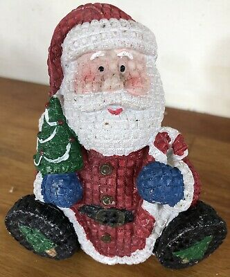Latex Mould for making this Cute Sitting Santa figure