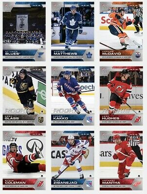 NHL Hockey 2019-20 Topps NOW 9 Sticker Pack Only Week 1 No Album