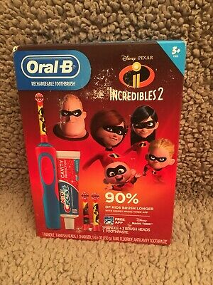 Oral-B Incredibles 2 Rechargeable Electric Toothbrush - Brand New